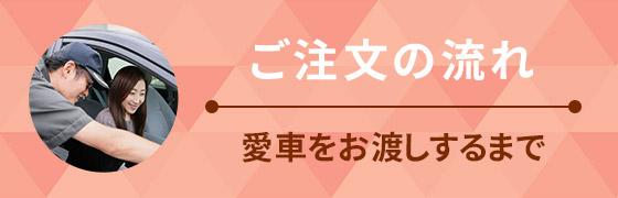 ご注文の流れ JMF長崎・車検センター